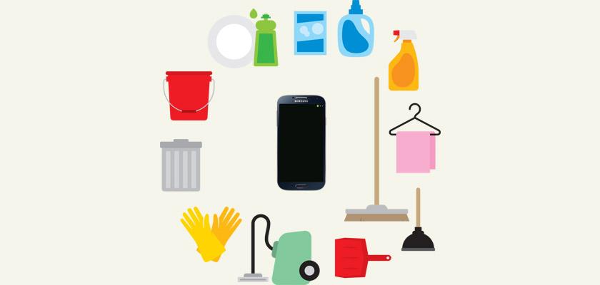 La hora de la limpieza