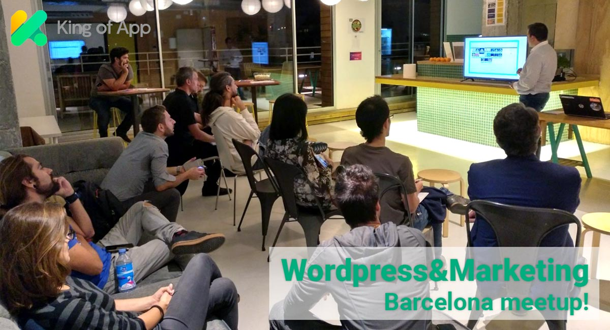 WordPress & Marketing Barcelona meetup!: mejoramos para la comunidad WordPress