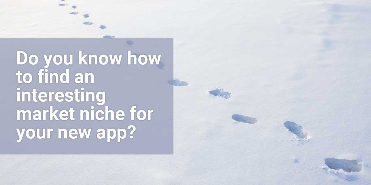 How to find an interesting market niche for your app (+video)