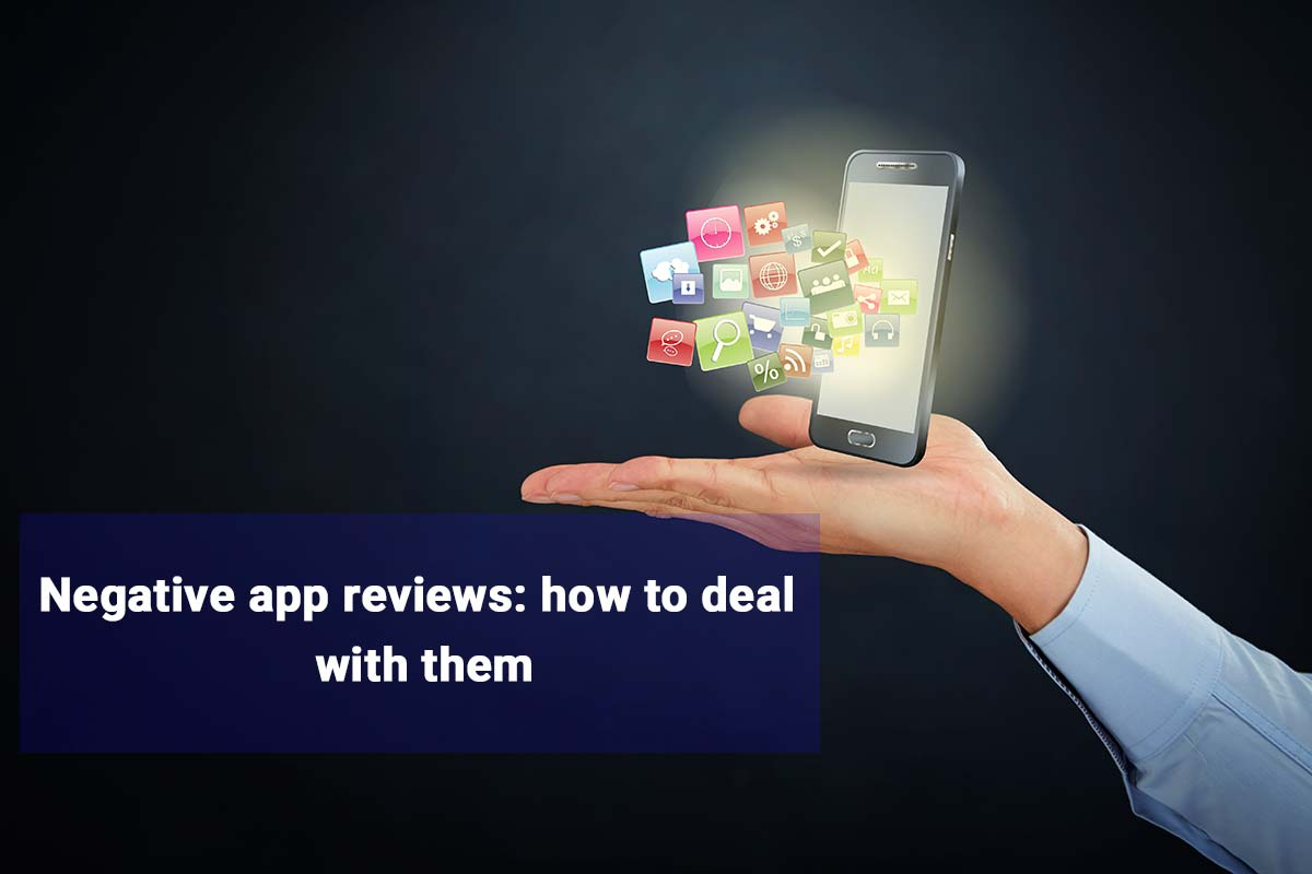 Negative app reviews: how to deal with them