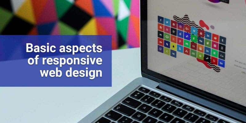 Basic aspects of responsive web design