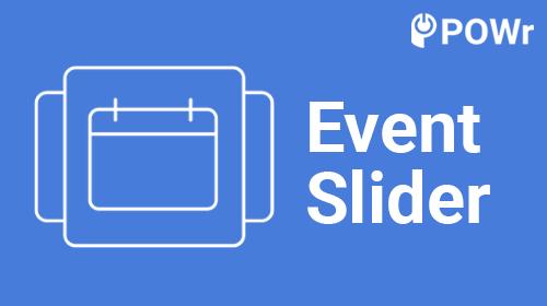 POWr Event Slider