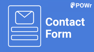 POWr, Contact, Form, Modulo