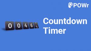 POWr, Countdown, Timer, Modulo