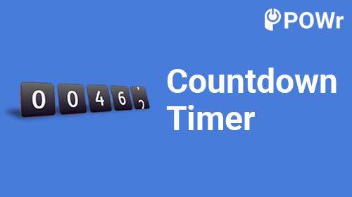 POWr Countdown Timer