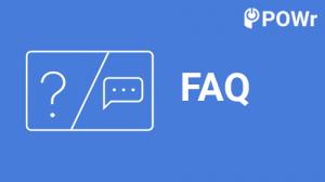 POwr, FAQ, modulo