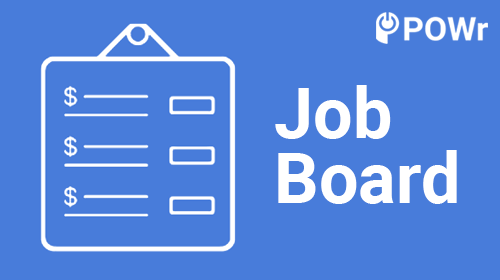 POWr, Job, Board, Modulo