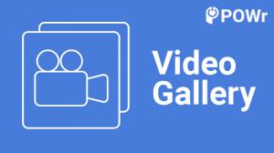 POWr, Video, Gallery, Modulo