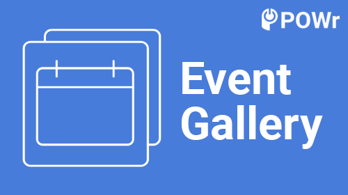 POWr, Event, Gallery, Modulo