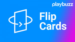 Playbuzz, Flip, Cards, Modulo