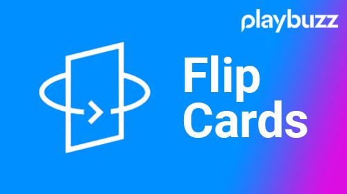 Playbuzz Flip Cards