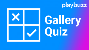 Playbuzz, Gallery, Quiz, modulo