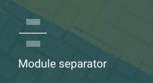 separador, modulos, modulo