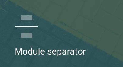 Separador de módulos