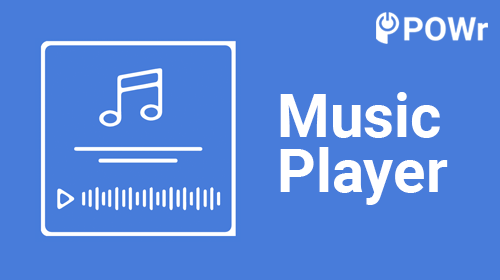 POWr Music Player