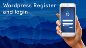 WordPress, Register, Login, Service