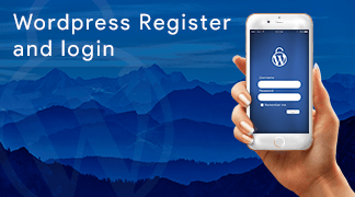 WordPress Register and Login