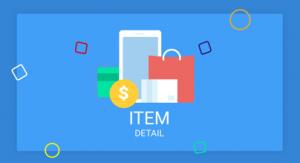 Firebase, eCommerce, Detail