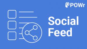POWr, Social Feed, Module