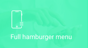 Fullscreen, Hamburger, Menu
