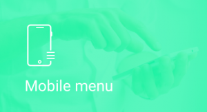 mobile, menu