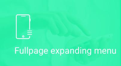 Fullpage Expanding Menu