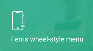 Ferris, Wheel-stile, menu