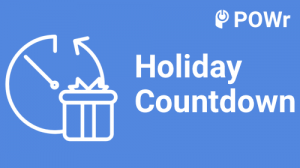 Holiday, Countdown, modulo