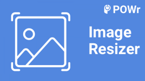 POWr, Image, Resizer, module