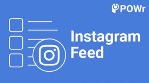POWr, Instagram, Feed, Module
