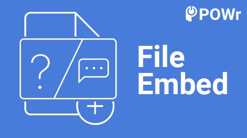 POWr File Embed