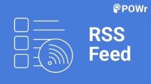 POWr, rss, feed, module