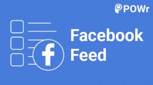 POWr, Facebook, Feed