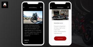 motorbikes, plantilla