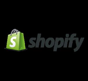 shopify logo jumbotron